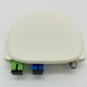 Image 3 - Receptor óptico sc apc sc/APC SC/upc, com wdm e agc, mini node, receptor óptico interno com branco caixa de plástico