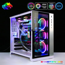 GPU MOD Water-Cooling-Kit Bykski Lighting for Soft-Tubing 5V RBW Hose CPU Program