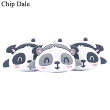 Chip Dale 5PCS Panda Silicone Beads Cute Animal Teether Bead BPA Free