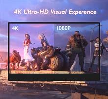Uperfect Full HD 1080P taşınabilir IPS monitör 17.3 inç USB dokunmatik ekran monitör bilgisayar için Ps4 anahtarı Xbox