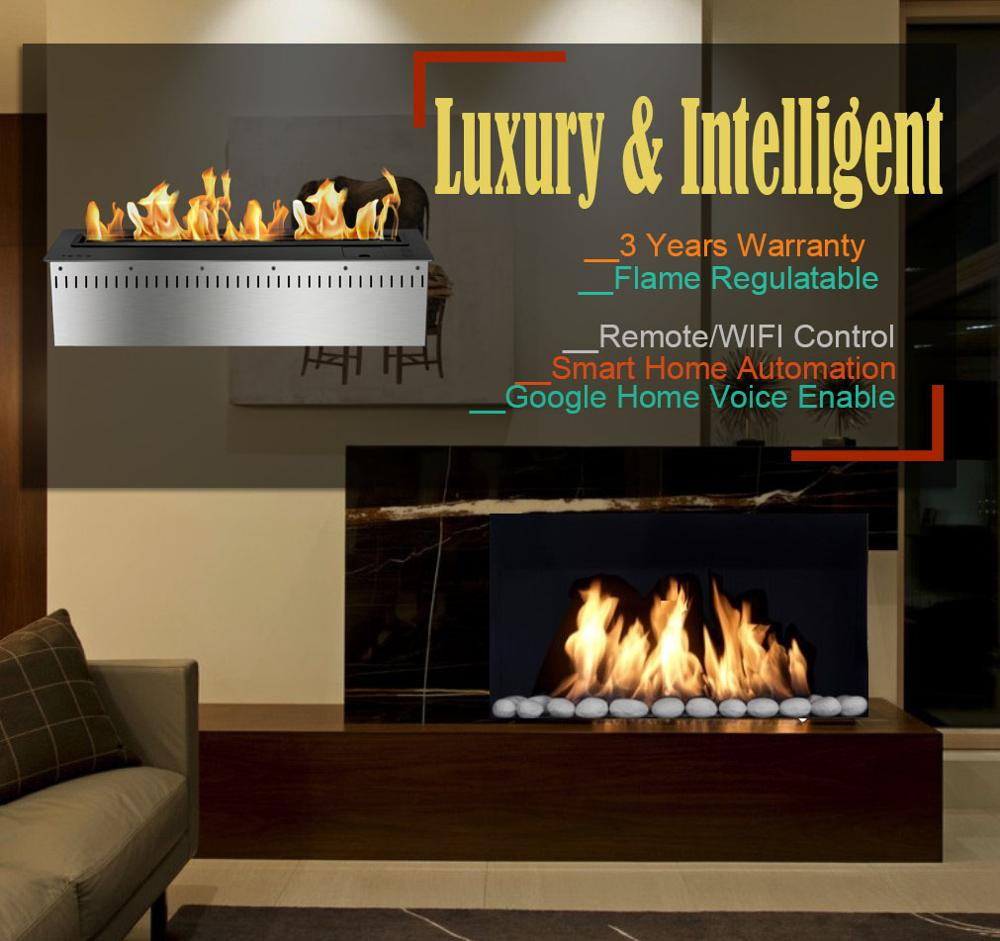 Inno Living 30 Inch Fireplace Remote Ambient Indoor Wall Insert