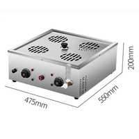 Commercial Steaming Stove  Desktop Electric Steaming Bun Machine  Steamed Bread Machine  Small Cage Steamer DZ 02|Hot Plates| |  -