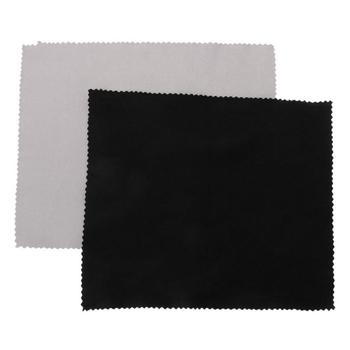 1pc Cleaner Clean Glasses Lens Cloth Wipes For Sunglasses Microfiber Eyeglass Cleaning Cloth For Camera Computer Grey Color image