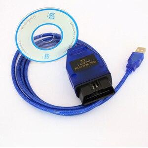 Beyisi VAG-COM 409,1 Vag Com 409Com vag 409,1 kkl OBD2 Диагностический кабель USB Сканер интерфейс для VW Audi Seat Volkswagen Skoda