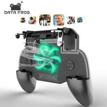 DATA FROG For PUBG Mobile Gamepad Controller Trigger Aim L1R1 Shooter Joystick IPhone Android Phone Free Fire