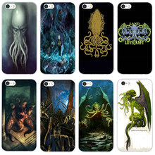 Land Lovecraft Soft TPU Mobile Phone Accessories Cases for i