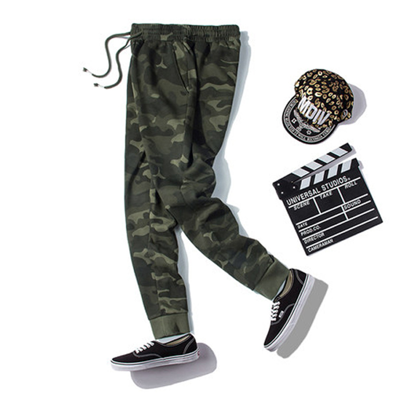 Men Tactical Army Military Pants Jogging Loose Sweatpants Man Multi Pockets Outdoor Cargo Casual Overalls Pants