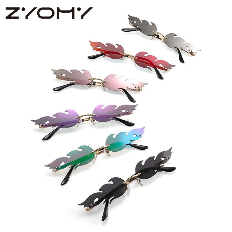 2020 gafas de sol de moda sin montura fuego llama gafas de sol de diseño único para mujeres y hombres gafas de sol de lujo de tendencia estrecha gafas de sol 2020 Mochila escolar para niños, Mochila escolar de primaria, Mochila ortopédica para niñas, Mochila Infantil para niños