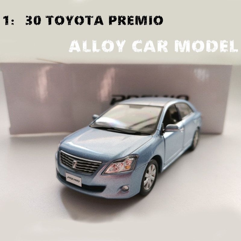 1:30 Alloy Diecast Metal Car Model  Toyota PREMIO Miniature Collection Diecast Model  Car Suit Toys For Children Birthday Gift