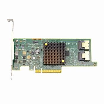 027NFF 27NFF 03GY7Y 3GY7Y FOR Dell LSI SAS 9207-8i 6GB SAS PCIE array card HBA контроллер lsi megaraid sas9341 8i 05 26106 00 lsi00407 sas 12gbps pcie3 0 x8 md2 raid 0 1 10 5 50 8 ports 2x sff8643 hd mini sas каб отдельно