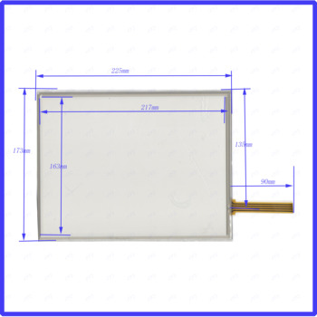 wholesale  5PCS/LOT ST104003 10.1inch 225*173MM  resistance screen  for GPS CAR this is compatible  225*173 TP104003