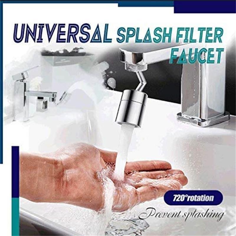 720 градусов универсальный брызги фильтр кран спрей головка защита от брызг фильтр кран подвижный ванная кран вода экономия насадка распылитель