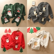 Family Clothing Outfits Christmas-Sweater Baby Mommy Me And Deer Print Rompers