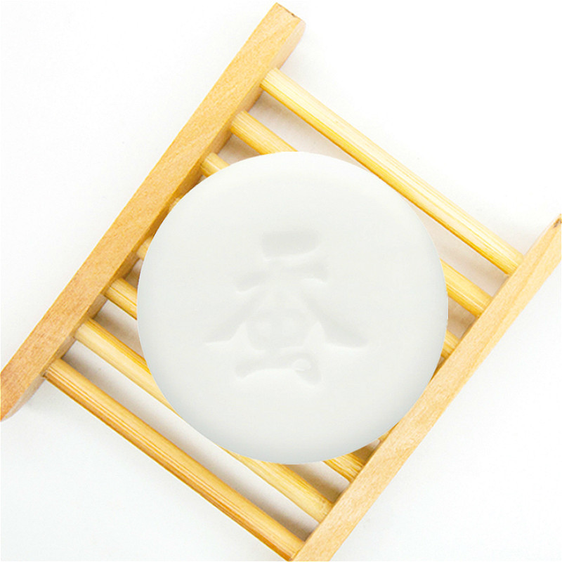 Goat's Milk Handmade Soap Removal Acne Blackhead Smooth Skin Tightening Pores Deep Cleaning Whitening Moisturizing Soap TSLM1