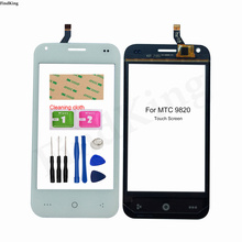 Mobile Touch Screen For MTC 9820 982O Touch Screen Digitizer Panel Front Glass Sensor Repair Replacement Parts Tools Adhesive