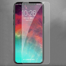 Película frontal para iPhone 11 Pro Max 11 2019 Xs Max Xs Xr 8X8 7 6 6S Plus 4 4S 5 5S SE vidrio protector para iPhone 11 Pro 8 7 X(China)