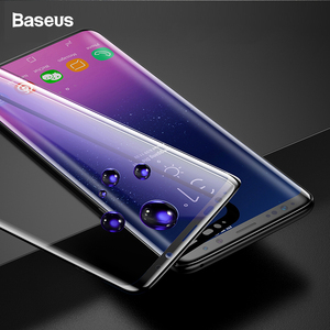 Image 5 - Baseus 3D Surface Tempered Glass For Samsung S9 S9 Plus Full Cover Screen Protector For Samsung Galaxy S9 S9Plus Protective Film