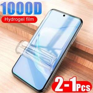 Tempered-Glass Screen-Protector S8-Glass-Film UV S9 Note 8 Full-Liquid 100D Samsung Galaxy