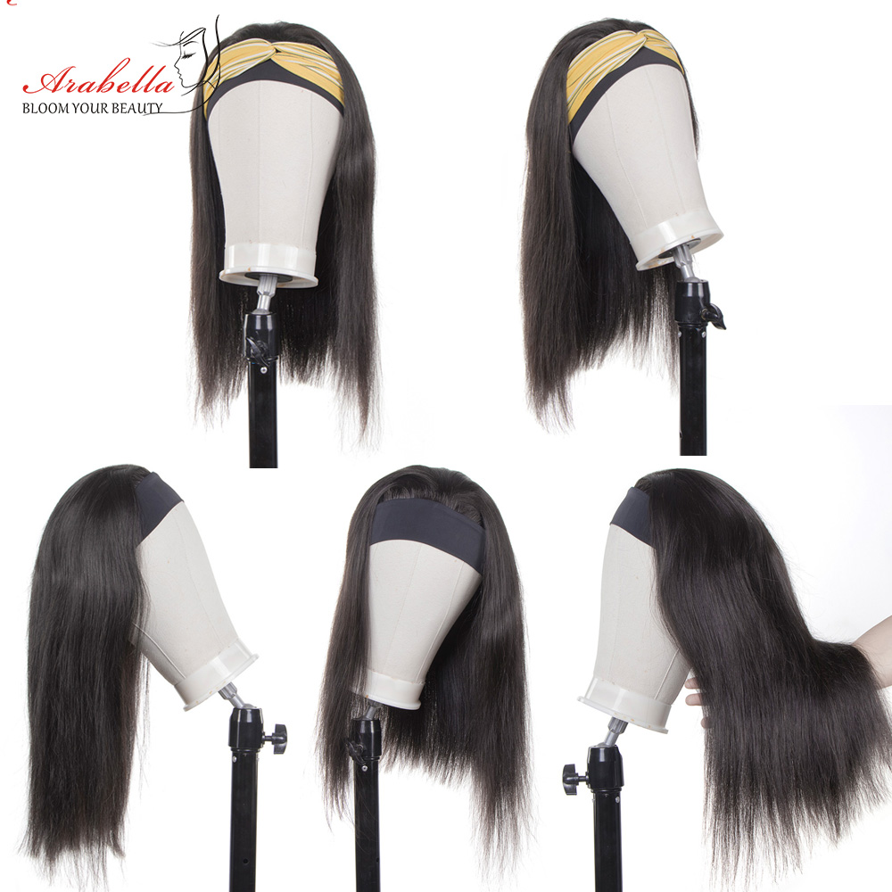 99J Straight Wig  Wigs  Hair Wig   Arabella Glueless Wig Headband Machine Wig 4