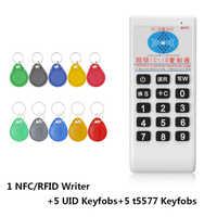 RFID Handheld 125Khz bis 13,56 MHZ Kopierer Duplizierer Cloner RFID NFC ID/IC Card Reader & Writer Karten anzug