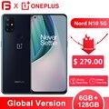 Глобальная версия OnePlus Nord N10 5G смартфон 6 ГБ 128 64-мегапиксельная четырехъядерная камера 90 Гц Дисплей Snapdragon 690 NFC 4300 мАч Battary