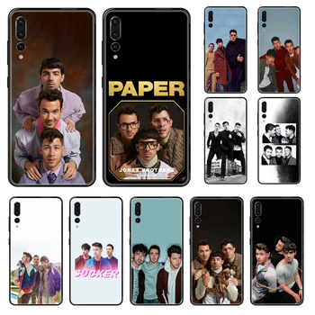 Jonas Brothers Rock Phone case For Huawei P 8 10 20 30 Smart Plus 2019 Z Lite Pro 2017 2019 black trend Etui soft bumper image