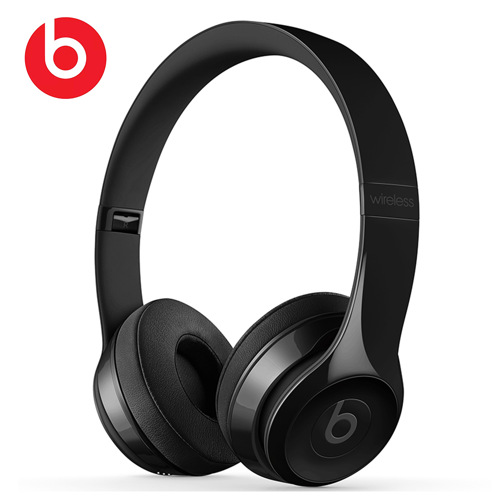 Beats Solo3 Wireless Bluetooth Headphones Solo 3 Portable Gaming Sport Headset Foldable Deep Bass Earphone Hands-free with Mic image