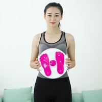 Manufacturers Direct Selling Large Size Magnet Wriggled Plate Foot Massage Health Care Fitness Household Body hugging Leg shape