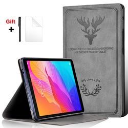 Pour Huawei MatePad T8 8.0 étui avec support housse antichoc pour Huawei MatePad T 8 Kobe2 L09 L03 2020 modèle étui pour tablette + film + stylo