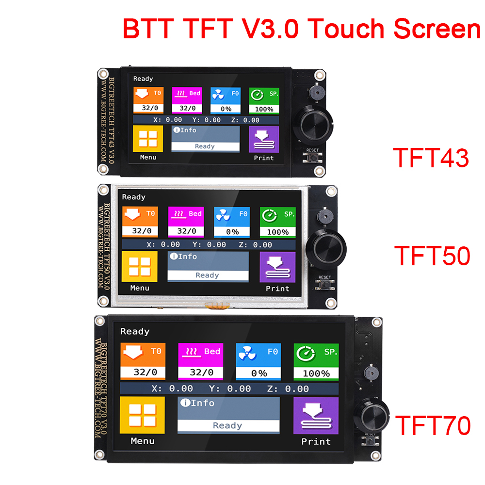 BIGTREETECH TFT43 TFT50 TFT70 V3.0 Touch Screen 12864LCD Display WIFI 3D Printer Parts TFT35 E3 For Ender 3/5 SKR V1.4 MINI E3