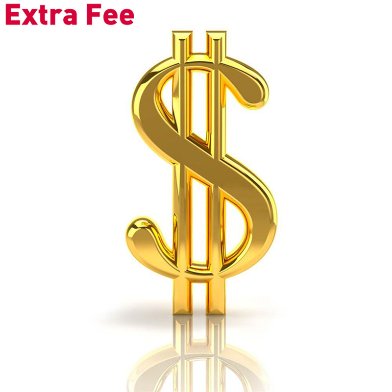 Add Money Here For Extra Shipping Or Other Extra Costs