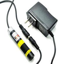 Фокусируемый Зеленый лазерный диод 10 мВт 515нм модуль линейная