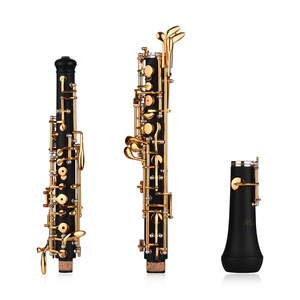 Image 4 - Профессиональный полуавтоматический ключ Oboe C, никелированные ключи, инструмент для деревообработки с перчатками Oboe Reed, кожаный чехол, сумка для переноски