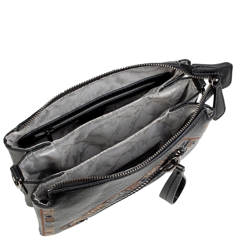 Lois Modelo Gunters Bolso Pequeño Bandolera con bolsillo cremallera delantero para la mujer urbana que quiere comodidad. 5