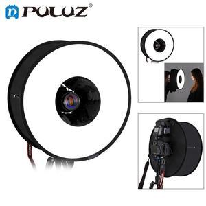 Image 1 - PULUZ 45cm Round Softbox Macro & Portrait Shooting Speedlight Soft Box Foldable Soft Flash Light Diffuser for Photo Studio