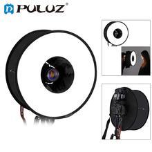 Puluz 45cm redonda softbox macro & retrato tiro speedlight suave caixa dobrável suave flash difusor de luz para estúdio foto