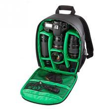 Waterproof SLR Backpack Digital Camera Bag Outdoor Multi function Shockproof Camera Backpack for Nikon  SLR Camera Lens Bag