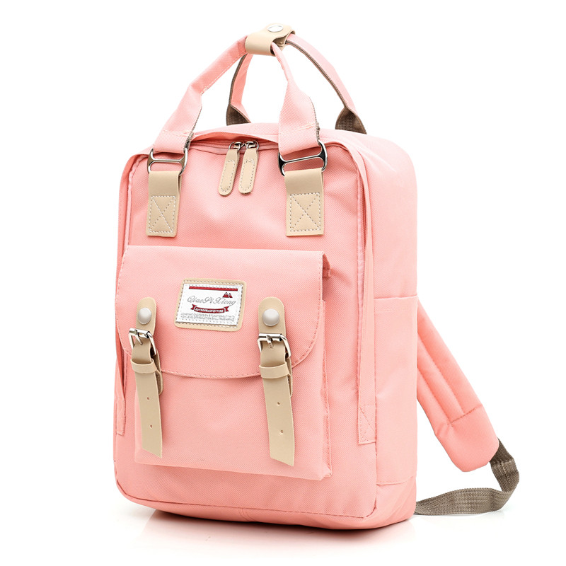 New Women Backpack Waterproof Canvas USB Charging Travel Backpack Laptop Rucksack Female Teenagers Girls Shoulder Bag Female
