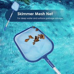 Folha skimmer malha líquido de limpeza profissional piscina lagoa banheira limpeza