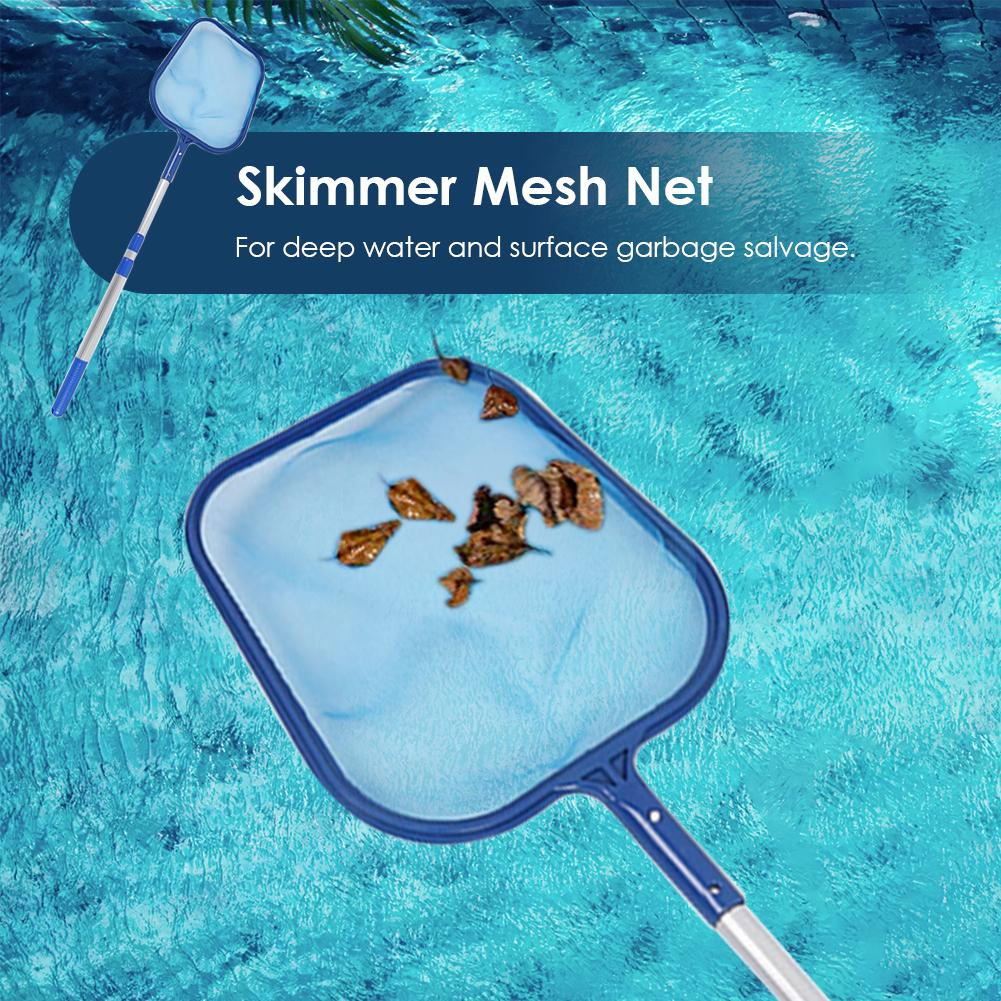 Leaf Skimmer Mesh Net Professional Cleaner Swimming Pool Pond Tub Cleaning