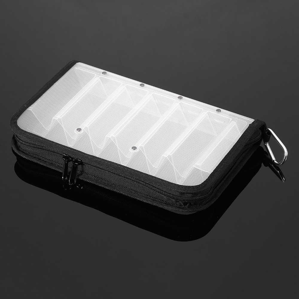 ماء جهين الصيد إغراء معالجة مربع حالة ل خطاف صيد على شكل سمكة السنانير صندوق تخزين الناقل حقيبة حالة 12 المقصورات