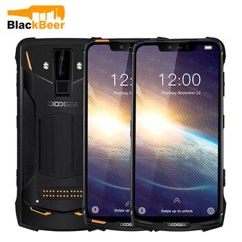 Перейти на Алиэкспресс и купить Смартфон DOOGEE S90 Pro IP68, прочный мобильный телефон 6,18 дюйма, Восьмиядерный процессор Helio P70, 6 ГБ 128 ГБ, камера AL, Android 9,0, сотовый телефон 5050 мАч