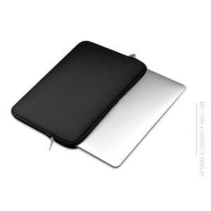 Image 1 - Рукав для ноутбука 14 15,6 дюймов Сумка для ноутбука 13,3 для MacBook Air Pro 13 Чехол сумка для ноутбука 11 13 15 дюймов защитный чехол для компьютера