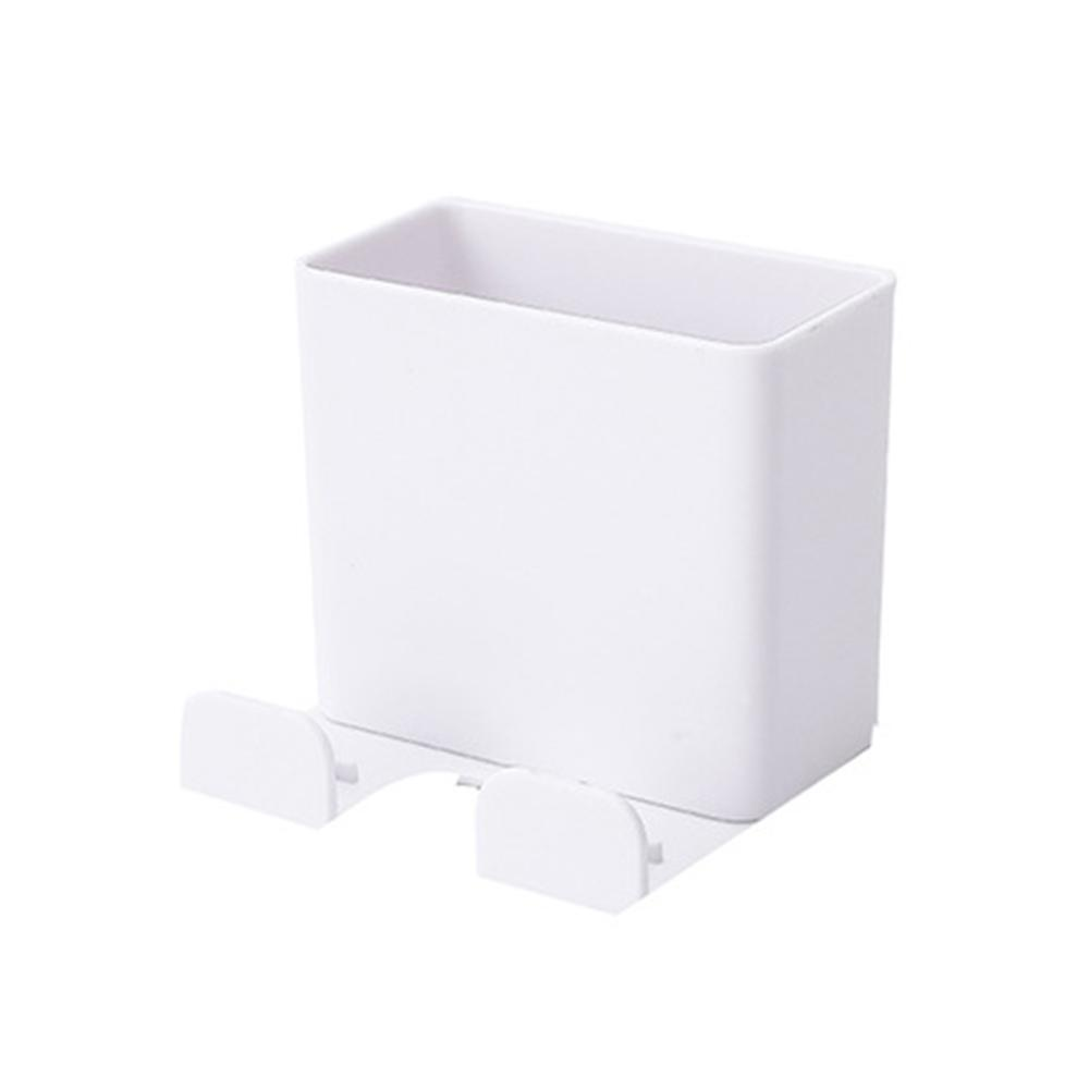 1pcs Wall Mounted Organizer Storage Box <font><b>Remote</b></font> Control <font><b>Air</b></font> <font><b>Conditioner</b></font> Storage Case Mobile Phone Plug <font><b>Holder</b></font> Stand Container image