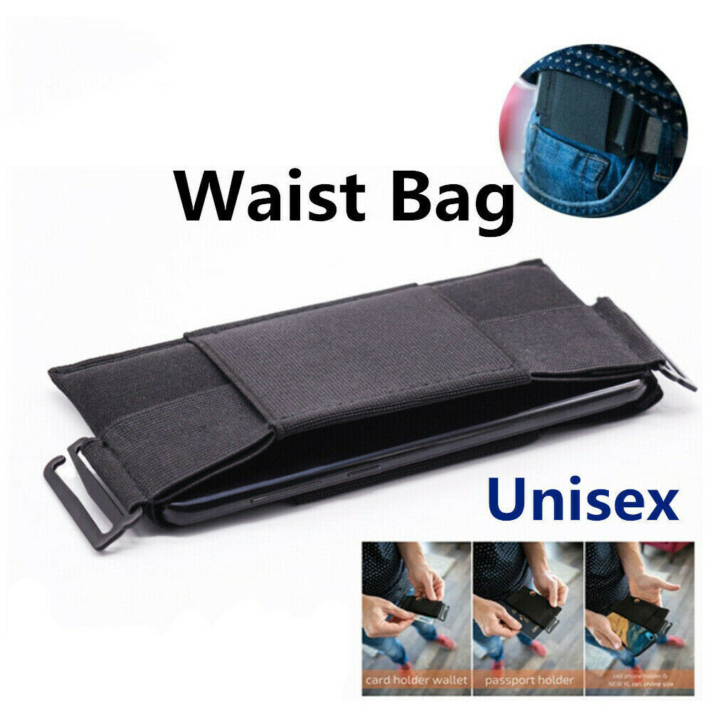 Outdoor Unisex Sport Waist Bag Running Belt Phone Pouch Holder For Key Card Phone