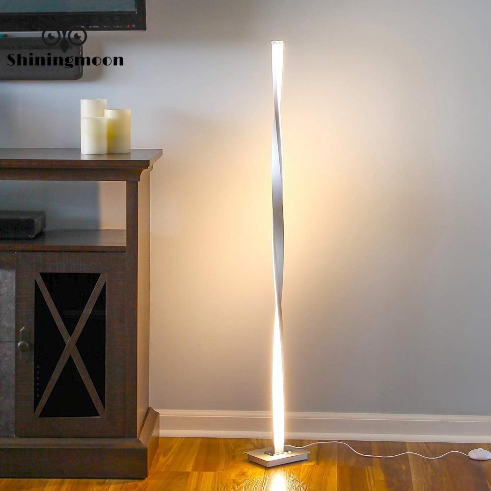 Led Floor Lamp Nordic Aluminium Office