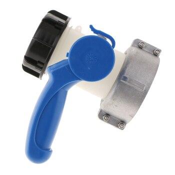 Tapa Roscada Gruesa Del Tanque IBC (rosca DN40, 62mm)-adaptador/conector De La Manguera, Tapa Del Grifo Del Adaptador