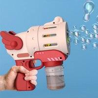 Máquina de burbujas automática para niños, juguete soplador de agua y jabón para interiores y exteriores, máquina de burbujas para regalo