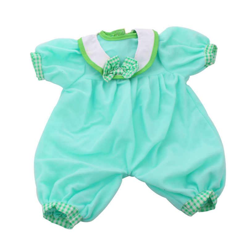 Mode Outfits Tragen Für 43cm Zapf Baby Puppe 17 Inch Reborn Babys Kleidung