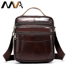 MVA Men's Crossbody Bag Genuine Leather Men's Bags